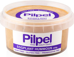 eggplant-hummous